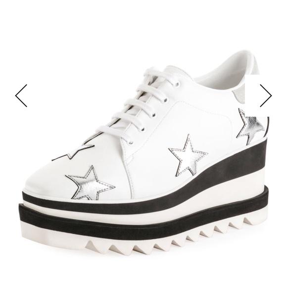 1cde10a3fe59 Stella McCartney Sneakelyse Stars Platform Sneaker